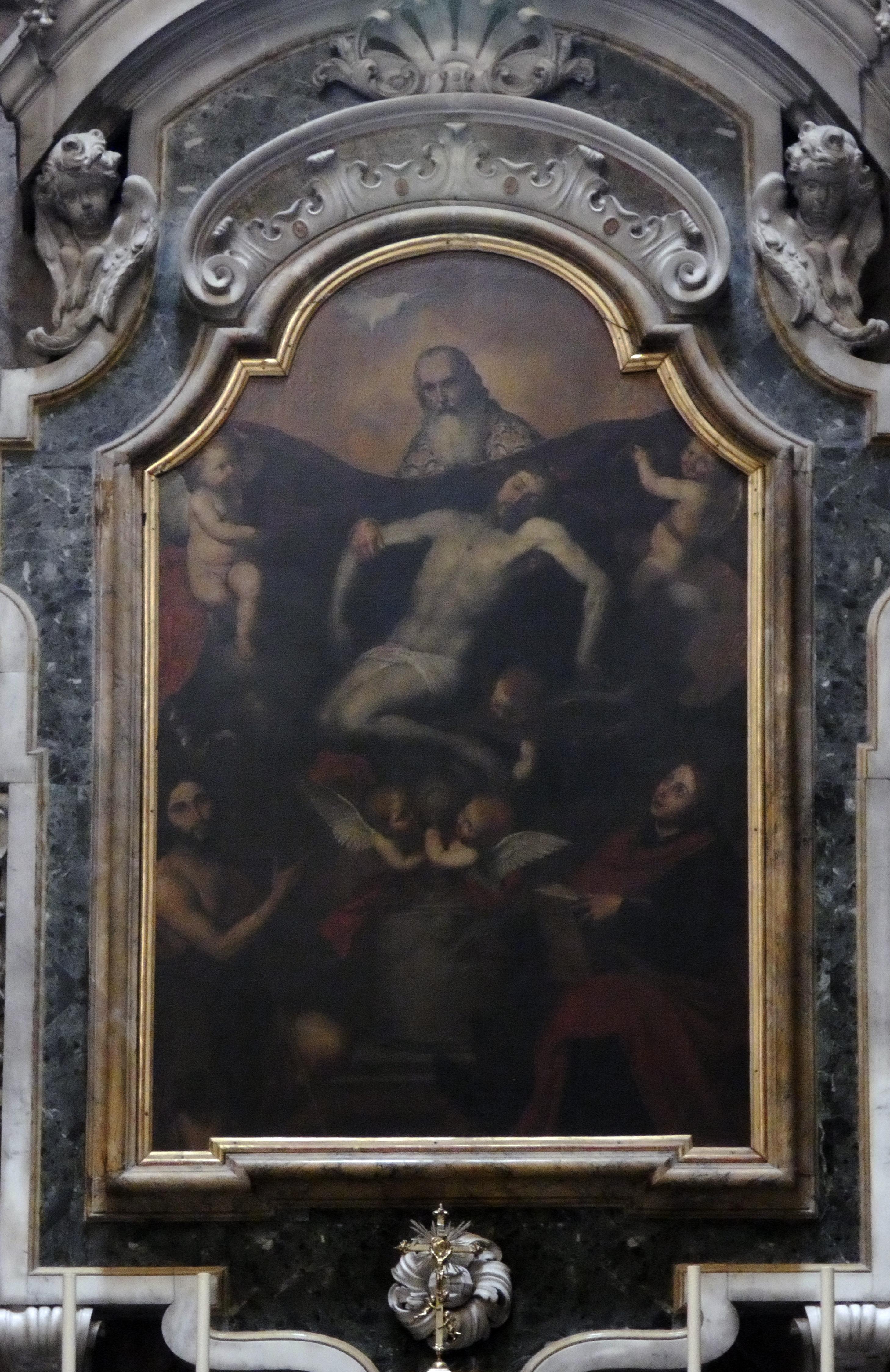 Cristo morto, Attribuita ad Andrea Sabbatini da Salerno