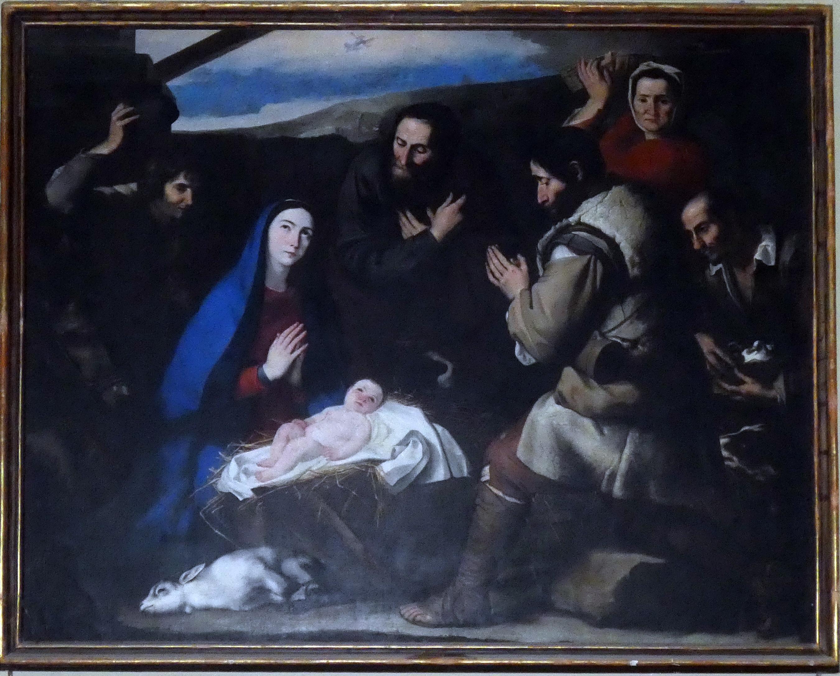 Adorazione dei pastori, Scuola Juepe de Ribera, Castellammare di Stabi foto Giuseppe Zingone