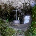 Scempio: edicola votiva all'Acqua Santa