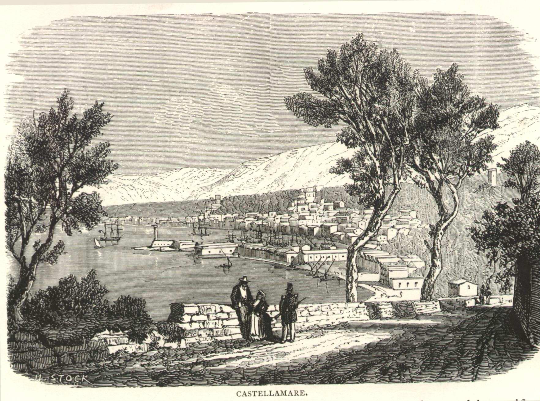 Castellamare nel 1860 (coll. Gaetano Fontana)