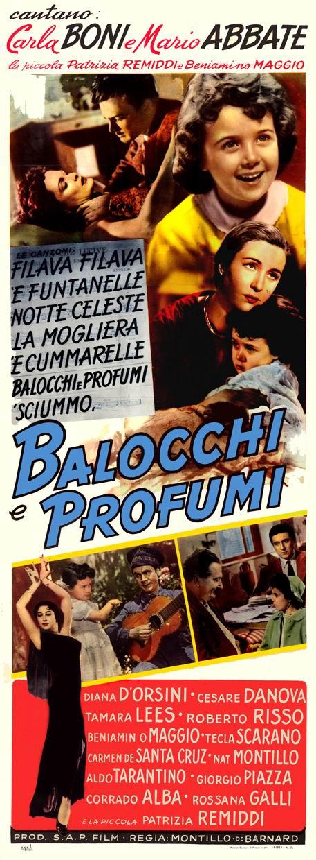 Balocchi e Profumi (anno 1953)