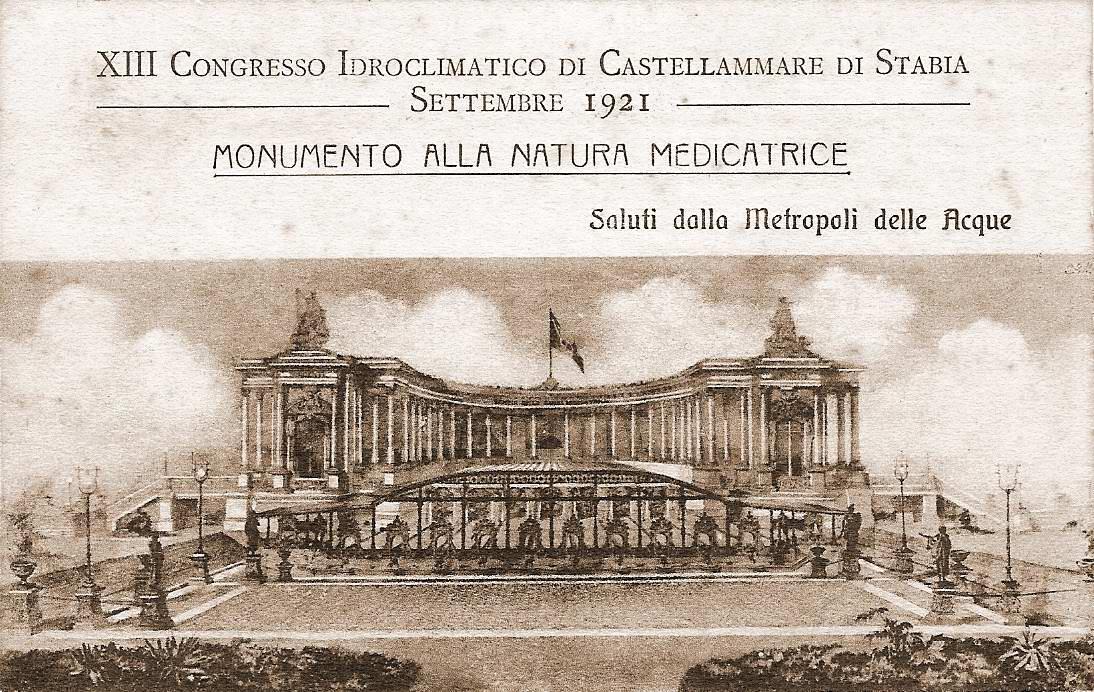 Cartolina: Monumento alla natura medicatrice