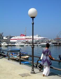 Passeggiata sul porto
