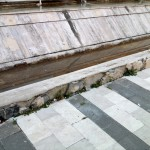 Piazza Fontana Grande - degrado (9)
