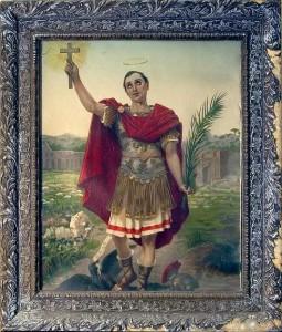 Sant'Espedito, Parrocchia di San Nicola a Mezzapietra