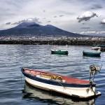 Vesuvio dal porto