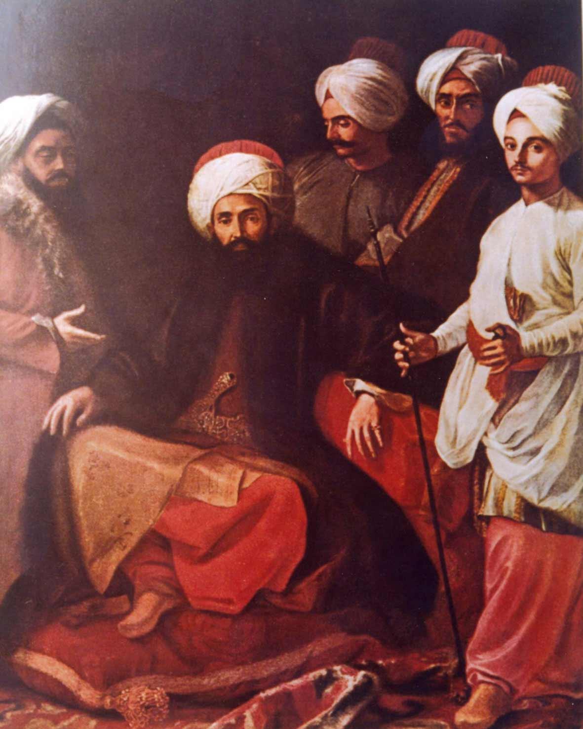 Giuseppe Bonito: Gli ambasciatori turchi (Foto: Archivio Ziino).