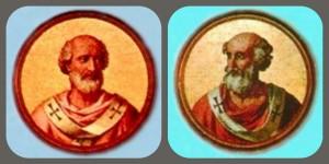 Papa Sabiniano (604 - 606) e Bonifacio III (607)
