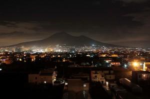 Vesuvio notturno