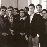 """1957 a fumare nei gabinetti... Anno 1957: fumiamo nei gabinetti del Liceo """"Plinio Seniore"""": Beppe Cuomo, Lello Polito, Di Ruocco, etc. etc."""