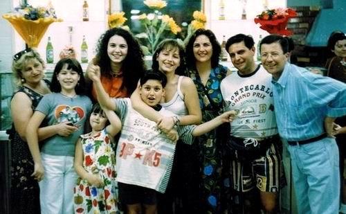 Famiglia Alminni e Santaniello