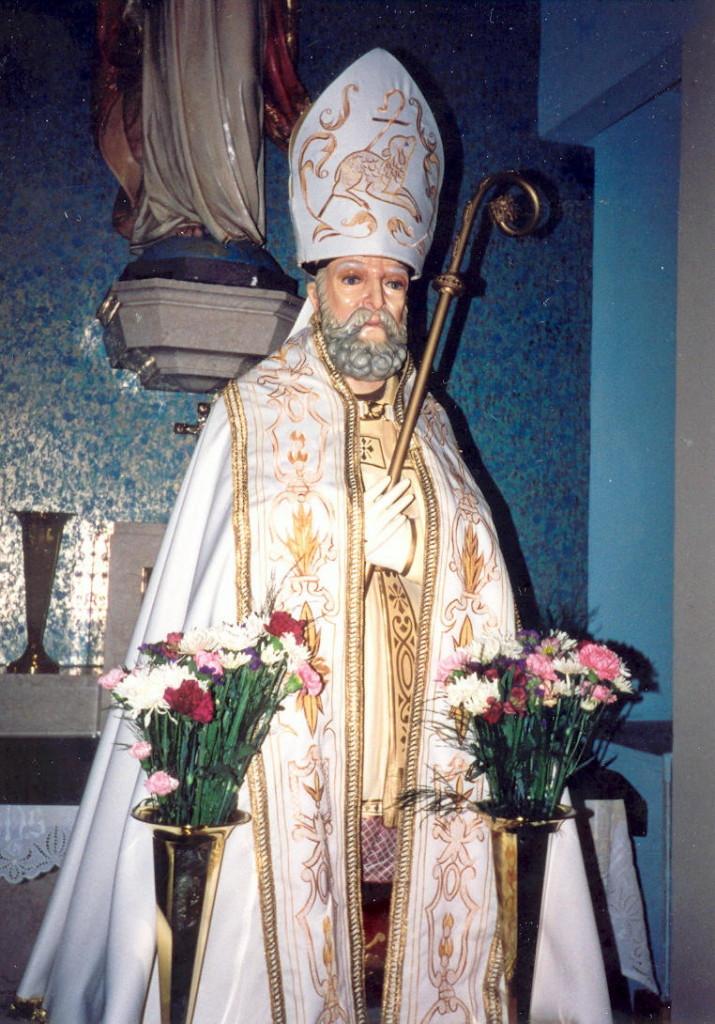 La Statua di San Catello che si trova negli Stati Uniti