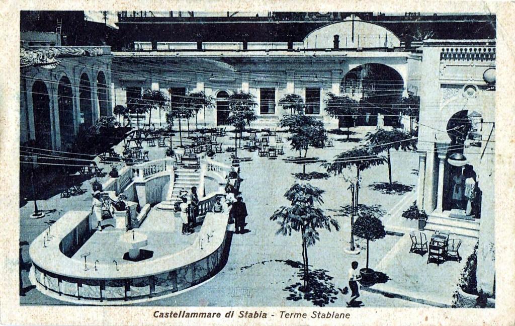 Le terme di Castellammare, cartolina Zingone Giuseppe