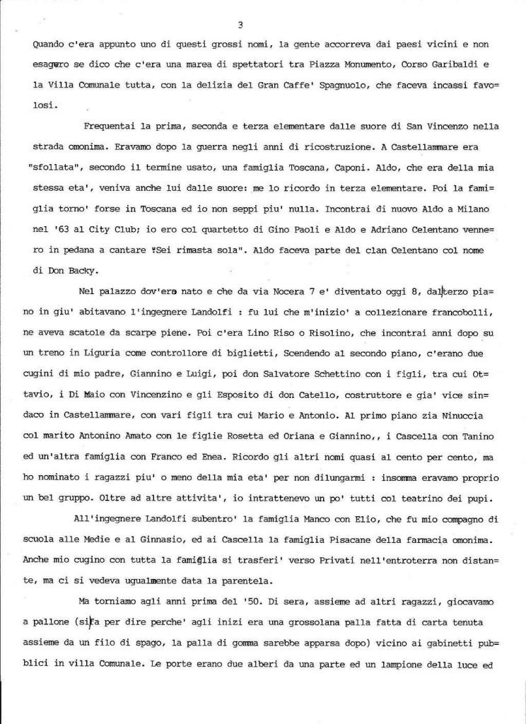 Peppe Cuomo dattiloscritto 3
