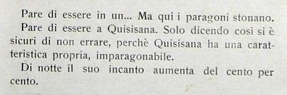 Quisisana, paradiso verde (stralcio n. 9)