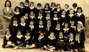 3° elementare - maestra Wanda Valenza (26 maggio 1957)