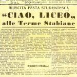 """L'articolo della festa pubblicato sul """"Roma"""""""