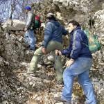 Escursionisti stabiesi (foto Maurizio Cuomo).