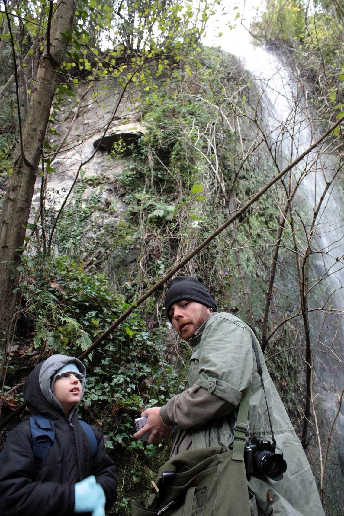 Cascata a monte Coppola
