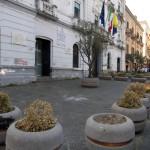 Le fioriere di Palazzo Farnese