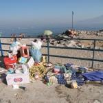 Cumuli di rifiuti abbandonati
