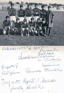 Squadra Romeo Menti (anno 1962)