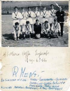 Squadra Romeo Menti (anno 1964)