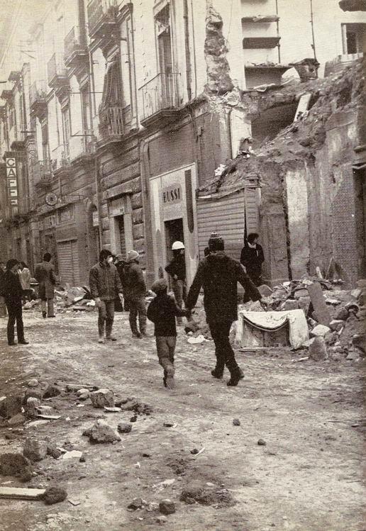 Il terremoto a Castellammare