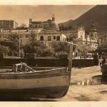 La banchina di zi' Catiello (immagine d'epoca)