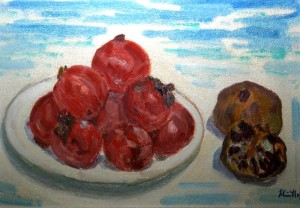 Composizione di frutti di stagione