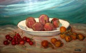 Pesche, ciliegie e nespole