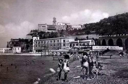 Spiaggia balneare in località Pozzano