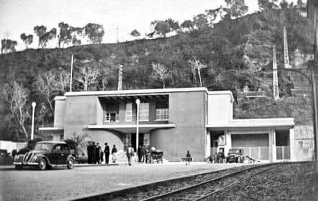 Stazione Circumvesuviana di Castellammare di Stabia (coll. Bonuccio Gatti)