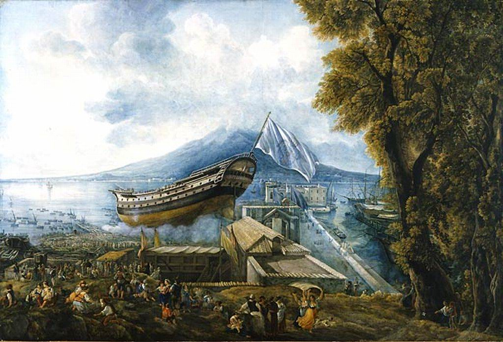 Le Chantier naval à Castellammare di Stabia