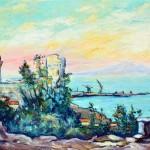 Il porto dal castello