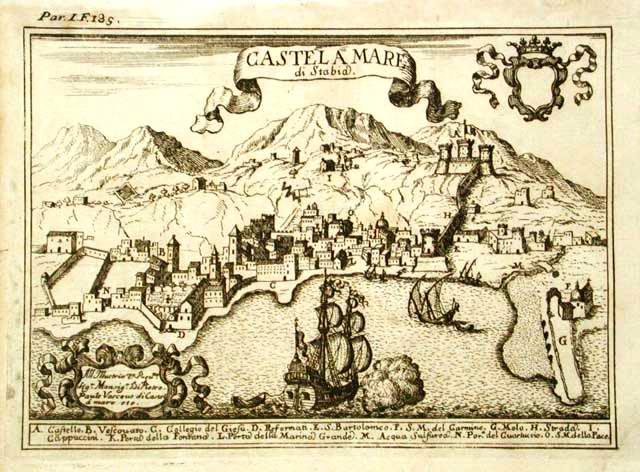 Riscopriamo Castellammare (Stampa del Pacichelli - coll. G. Fontana)