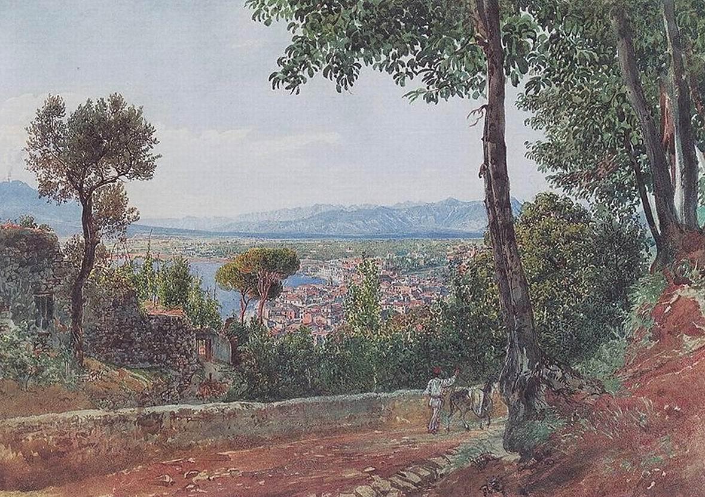 Castellammare am Golf von Neapel