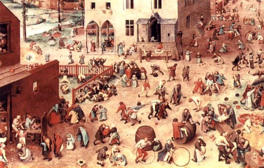 Giochi di fanciulli ( Zompa Cavalier )