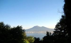 Scorcio sul Vesuvio