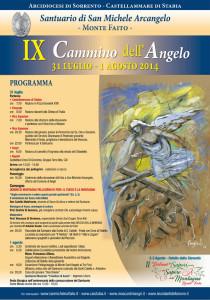 Il Cammino dell'Angelo IX edizione (locandina evento)