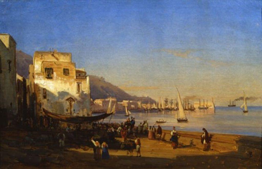 Mercato sul porto di Castellammare