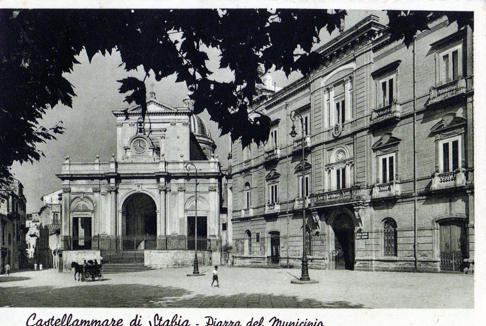 Palazzo Farnese: sede del Comune di Castellammare