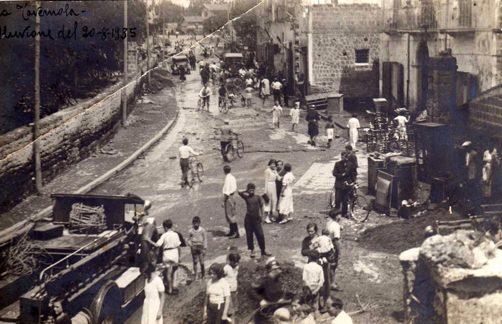Alluvione del 20 agosto 1935 (la Tavernola)