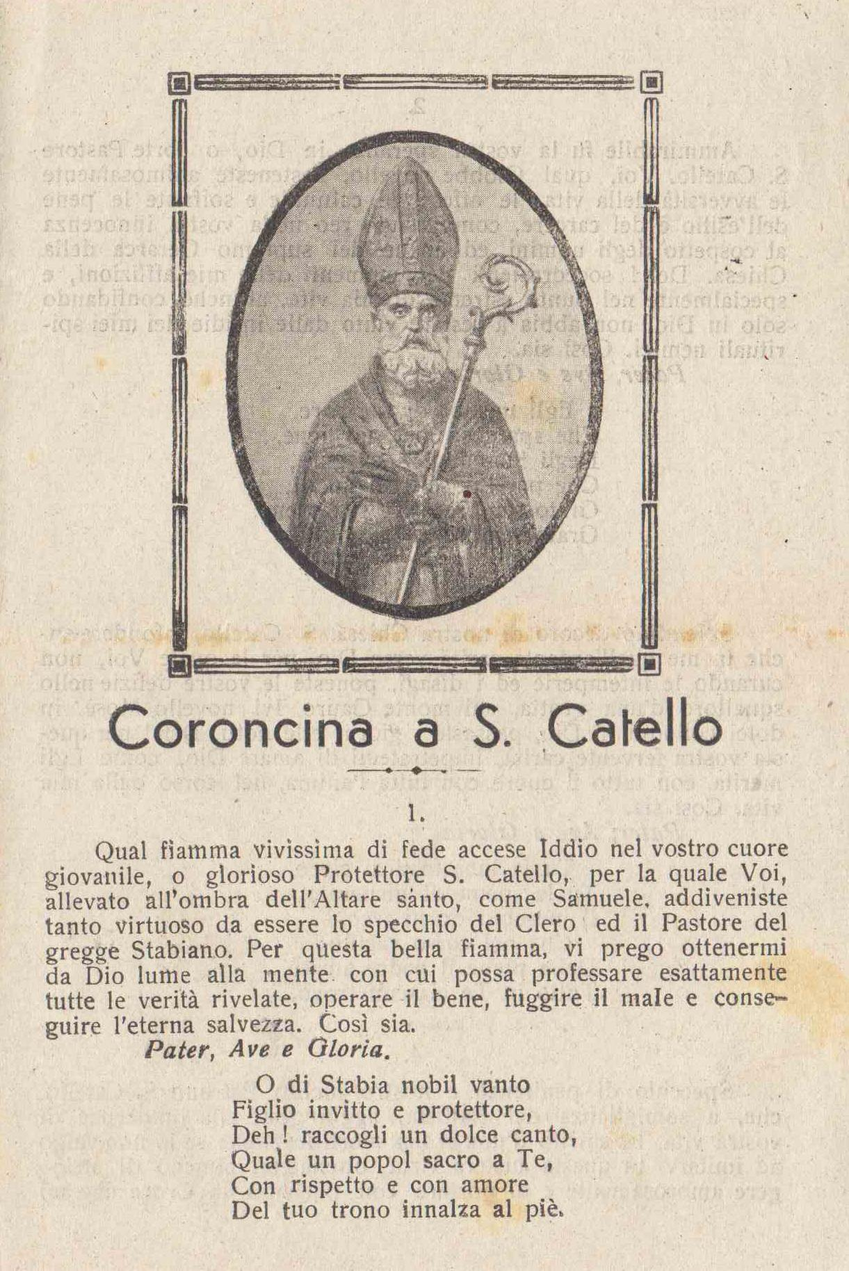 Coroncina a San Catello (pagina 1)