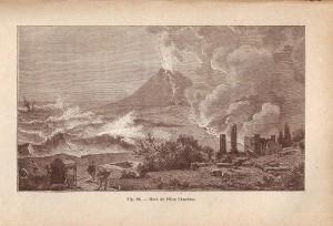 Morte di Plinio sulla spiaggia di Castellammare di Stabia, collezione Gaetano Fontana