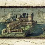 Paesaggio con Villa marittima, I sec d.C.