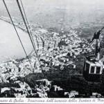 Panorama dall'incrocio della Funivia