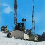 San Michele e antenne RAI con neve