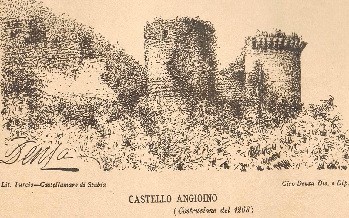 Ciro Denza - Il castello (schizzo)