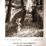 Fontana nel viale principale del Bosco di Quisisana